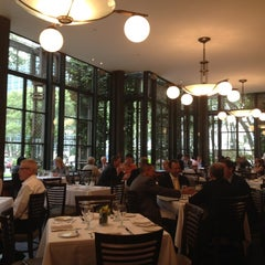 Photo taken at Bryant Park Grill by Yolanda s. on 8/20/2012