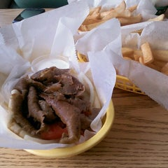 Photo taken at Zorba's Gyros by Carrie C. on 5/25/2012