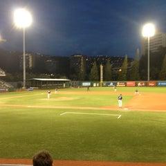 Photo taken at Les Murakami Stadium by Brad K. on 4/6/2012