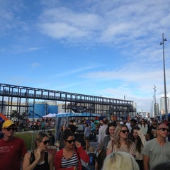 Photo taken at Wynyard Quarter by Mark H. on 3/10/2012
