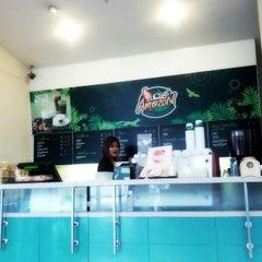 Photo taken at Café Amazon (คาเฟ่ อเมซอน) by Kanok L. on 8/31/2012