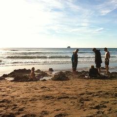 Photo of Hot Water Beach in Hahei, Wa, NZ