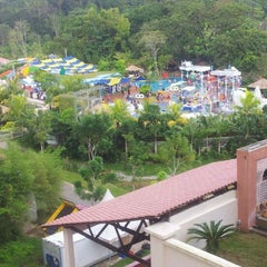 Photo taken at Bukit Gambang Water Park by Cn on 2/4/2012