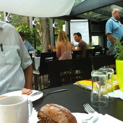 Photo taken at Cafe Restaurant Resselpark by Malgorzata A. on 6/20/2012