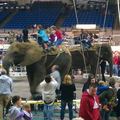 Photo taken at Indiana State Fairgrounds Coliseum by Andy W. on 3/4/2012