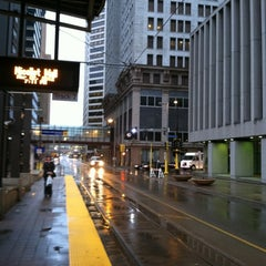 Photo taken at Nicollet Mall LRT Station by Cindy C. on 7/13/2012