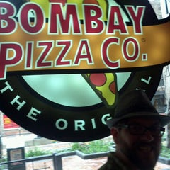 Photo taken at Bombay Pizza Co. by Remy S. on 2/4/2012