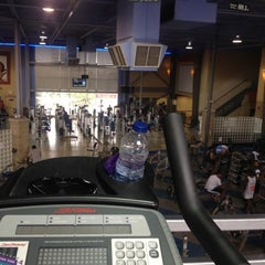 Photo taken at LA Fitness by Ahra K. on 7/22/2012