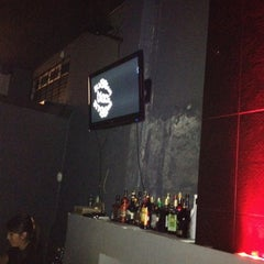 Photo taken at BLACK BAR by ℰmiԍdiȏ on 8/11/2012