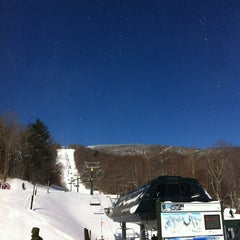 Photo taken at Sugarbush Resort - Lincoln Peak by Josh F. on 2/26/2012