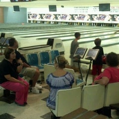 Photo taken at Hermitage Lanes by Kevin N. on 8/3/2012