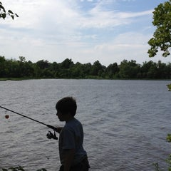 Photo taken at Claremore Lake (North Side) by Kholter H. on 5/27/2012