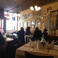 Photo taken at Trattoria Pesce Pasta by Rachel L. on 3/11/2012