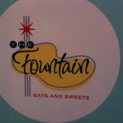 Photo taken at The Fountain Eats & Sweets by Robert L. on 4/3/2012