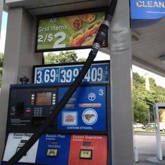 Photo taken at Exxon by 5xPanda on 8/12/2012