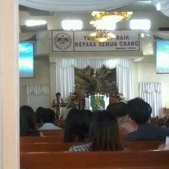 Photo taken at GMIM Getsemani Sario Kota Baru by vero w. on 6/3/2012