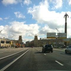Photo taken at Ленинский проспект by Kirill G. on 4/30/2012