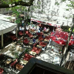 Photo taken at Lalezar Çay Bahçesi by Ivana H. on 4/27/2012