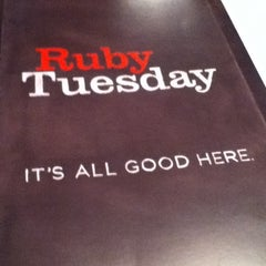 Photo taken at Ruby Tuesday by Iris on 6/16/2012
