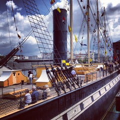 Photo taken at SS Great Britain by Phil B. on 7/8/2012
