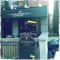 Photo taken at Cooper's Union by Brian D. on 6/28/2012
