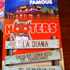 Photo taken at Hooters by Israel B. on 4/15/2012