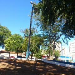 Photo taken at Praca Santos Dumont by Jorge R. on 7/18/2012