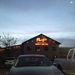Photo taken at Pacific Seafood Buffet by Tiffany G. on 3/30/2012