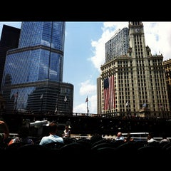 Photo taken at Chicago Architecture Foundation River Cruise by Thomas S. on 7/7/2012