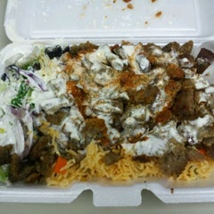 Photo taken at Rafiqi's Halal Food by Lamar G. on 4/10/2012