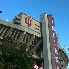 Photo taken at Memorial Stadium by Heather E. on 9/1/2012