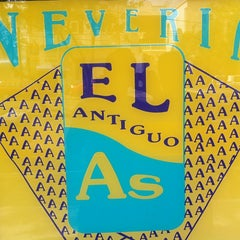 Photo taken at Neveria El Antiguo As by Salim A. on 7/15/2012