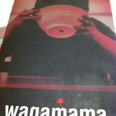 Photo taken at Wagamama by John Karlo E. on 3/10/2012