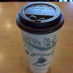 Photo taken at Caribou Coffee by John M. on 2/25/2012
