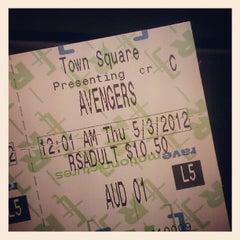 Photo taken at AMC Town Square 18 by Derek N. on 5/4/2012