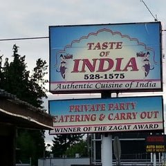 Photo taken at Taste of India by Michael P. on 7/28/2012