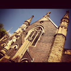 Photo taken at St Mary Mackillop Memorial Church by Ryan Y. on 4/2/2012