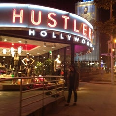 Photo taken at Hustler Hollywood by Jessa M. on 4/25/2012