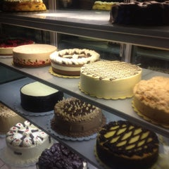 Photo taken at Calea Pastries and Coffee by abby e. on 6/2/2012