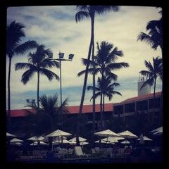 Photo taken at Marulhos Muro Alto Resort by Arthur L. on 6/10/2012