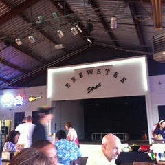 Photo taken at Brewster Street Icehouse by Denise W. on 7/17/2012