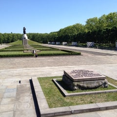 Photo taken at Treptower Park by Philipp G. on 5/20/2012