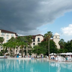Photo taken at Hard Rock Hotel Beach Pool by Orlando Informer on 7/8/2012
