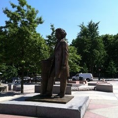 Photo taken at Frederick Douglass Circle by John P. on 5/18/2012