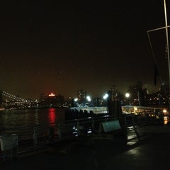 Photo taken at NY Waterway Ferry - Wall St/Pier 11 Terminal by Katie H. on 4/27/2012