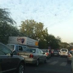 Photo taken at BRT Corridor by Roshni A. on 4/23/2012