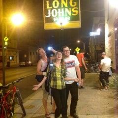 Photo taken at Long John's Pub by Adrian on 8/30/2012