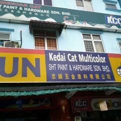 Photo taken at SHT Paint & Hardware Sdn Bhd by Gsatutigalima K. on 2/3/2012