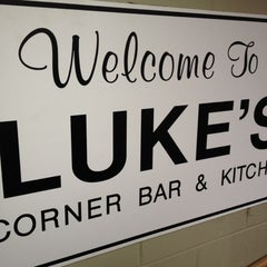 Photo taken at Luke's Corner Bar & Kitchen by @dezchen on 6/29/2012
