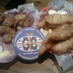 Photo taken at GB Fish and Chips by Lisa M. on 8/10/2012